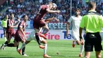 Iago Falque condanna la Roma alla sconfitta: vince il Torino 3-1
