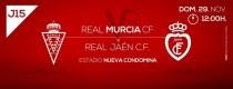 Resultado Real Murcia 2-0 Real Jaén: partido completo en Nueva Condomina