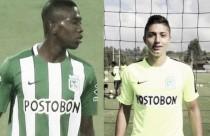 Juan Pablo Ramírez y Carlos Cuesta, la legión 'verdolaga' en la Selección Colombia Sub 20