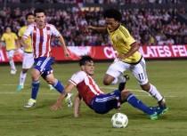 Qualificazioni Russia 2018 - Colombia col brivido, col Paraguay decide Cardona nel finale (0-1)