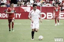 """Curro: """"Estoy muy contento por mi debut en Primera"""""""