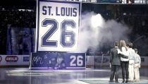 Tampa retira el nº26 de St. Louis en un emotivo homenaje