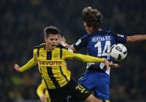 Bundesliga, tra Dortmund ed Hertha non emerge nessuno: 1-1, sorride il Bayern