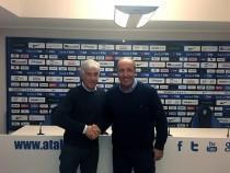 Atalanta, Ventura ieri ospite a Zingonia, ma la testa è alla Fiorentina