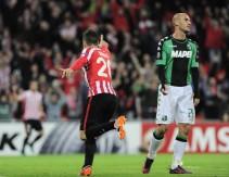 Europa League - Il Sassuolo dice addio all'Europa, vince l'Athletic (3-2)