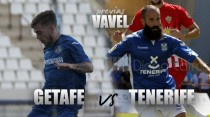 Previa Getafe CF - CD Tenerife: duelo por el playoff