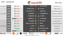 Fecha y hora para el Cádiz vs Rayo de la jornada 29 de Segunda