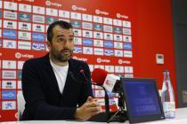 """Diego Martínez: """"El Almería ha mostrado un nivel muy competitivo"""""""