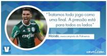 """Entrevista: Moisés comenta ascensão na carreira e ressalta: """"Todo jogo é uma final"""""""