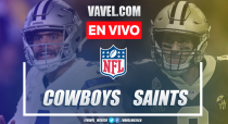 Resumen y touchdowns Cowboys 10-12 Saints en NFL 2019
