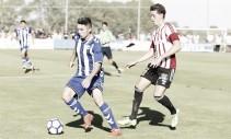 Daniel Torres ya debutó con el Deportivo Alavés