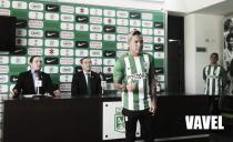"""Dayro Moreno: """"Estoy muy contento y ahora quiero hacer lo mío que son los goles"""""""