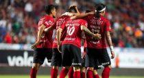 Dayro Moreno anotó gol con Tijuana ante Santos