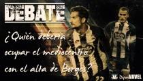 El mediocentro del Deportivo, a debate