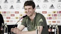 """Thomas Müller: """"Queremos que sea un show para los aficionados"""""""