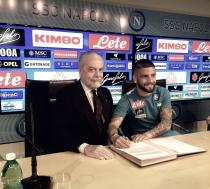 """Napoli - Insigne-day, De Laurentiis: """"Lorenzo bandiera azzurra, ne arriveranno altre"""""""