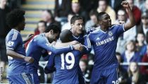 Swansea 0 - 1 Chelsea: Mou's side maintain title challenge