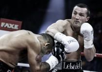 Cae 'El Tyson' Ramírez en Rusia; Lebedev unifica títulos