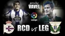 Deportivo de La Coruña - CD Leganés: Galicia como talismán