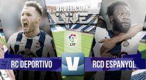 Deportivo de La Coruña vs Espanyol en vivo y en directo online (0-0)