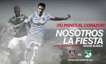 Deportivo Cali invitado a la 'noche blanca' de la Liga de Quito