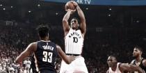 Toronto Raptors supera Indiana Pacers com show de DeRozan e avança às semi do Leste