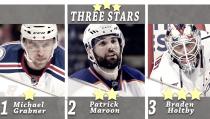 Las estrellas de la semana: Grabner, Maroon y Holtby