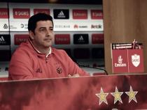 """Rui Vitória: """"No hay favoritos, pero vamos a por la victoria"""""""