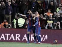 Messi faz dois, André Gomes desencanta e Barcelona vence jogo movimentado contra Valencia