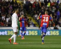 Levante UD - Real Madrid: puntuaciones del Levante, jornada 27 de la Liga BBVA