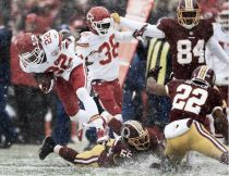 Los Chiefs no mostraron piedad ante Washington