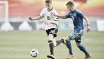 Ukraine under-17 2-2 Germany under-17: Shreck saves a point for Germany as Lunin shines