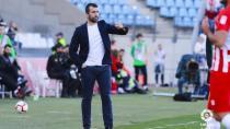 """Diego Martínez: """"Al equipo le ha faltado el último pase"""""""