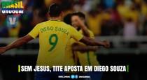Sem Gabriel Jesus, Tite aposta em Diego Souza: o que esperar de tal mudança?
