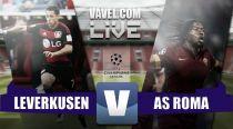 Resultado Bayer Leverkusen vs AS Roma en Champions League 2015 (4-4)