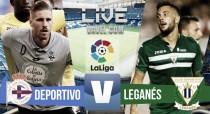Deportivo vs Leganés en vivo y en directo online