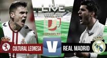 Cultural y Deportiva Leonesa vs Real Madrid en vivo online en dieciseisavos de la Copa del Rey
