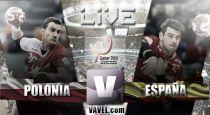 Mundial de Balonmano Qatar 2015 en vivo: Polonia vs España en directo online