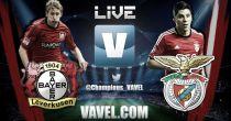 Bayer Leverkusen vs Benfica en vivo online