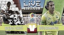 Resultado final: Boyacá Chicó - Atlético Bucaramanga en la Liga Águila 2016-I (1-1)
