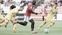 Girona vs Gimnàstic de Tarragona en directo online en Liga Adelante 2016 (1-1): Mata saca la garra