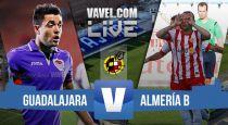 Guadalajara - Almería B en directo online en playoffs Segunda B 2015 (0-0)