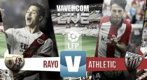 Rayo Vallecano vs Athletic de Bilbao en vivo y en directo online en Liga BBVA 2015 (0-0)