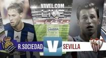 Resultado Real Sociedad vs Sevilla en Liga 2015 (2-0)