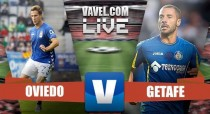 Resumen Real Oviedo 2 - 1 Getafe en Segunda División 2017