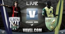 West Bromwich Albion vs Norwich City en vivo y en directo online