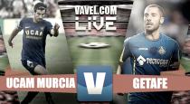 Resumen UCAM Murcia vs Getafe CF de Segunda División 2017 (2-0)