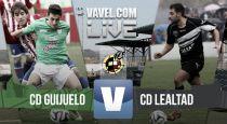 Resultado Guijuelo vs Lealtad en Segunda División B 2015