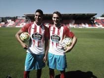 Ignasi Miquel y Djaló son presentados por el CD Lugo