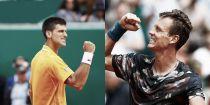 Novak Djokovic - Tomas Berdych: el número uno aspira a reinar sobre la tierra